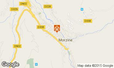 Map Morzine Apartment 39671