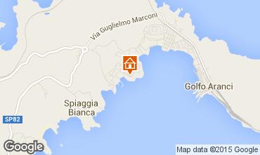 Map Aranci Gulf Apartment 83854