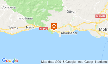 Map Almuñecar Apartment 116613