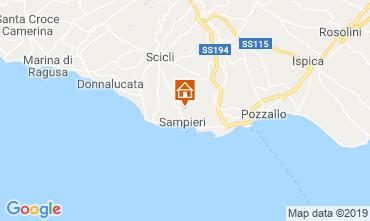 Map Ragusa Apartment 71458