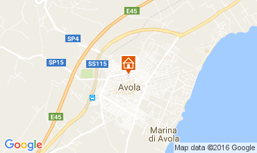 Map Avola Apartment 54361