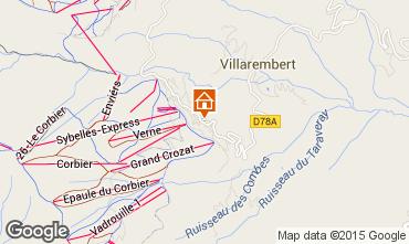 Map Le Corbier Apartment 102056