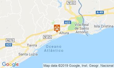 Map Tavira Villa 117553