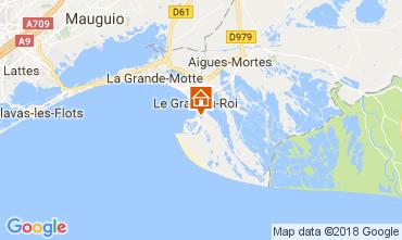 Map Le Grau du Roi Villa 90171