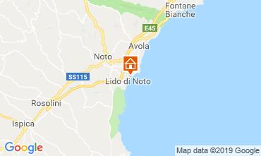 Map Noto Villa 118337