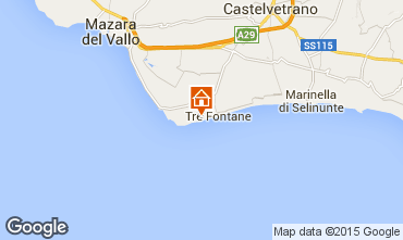 Map Tre Fontane Apartment 78356