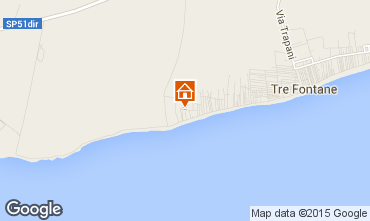 Map Tre Fontane Apartment 78356