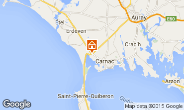 Map Carnac House 10696