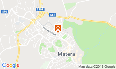 Map Matera Apartment 116910