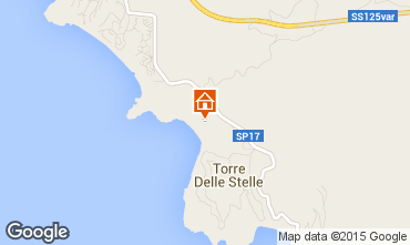 Map Torre delle Stelle Studio apartment 78083
