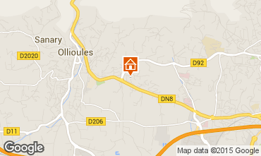 Map Ollioules Villa 89864
