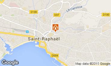 Map Saint Raphael Apartment 5623