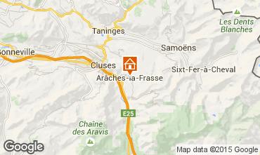 Map Les Carroz d'Araches Apartment 606