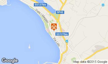 Map Alghero Apartment 43548