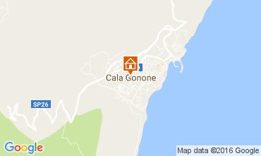 Map Cala Gonone Apartment 106617