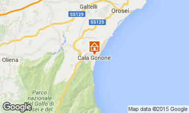 Map Cala Gonone Apartment 95071