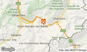 Map Chamonix Mont-Blanc Chalet 17589
