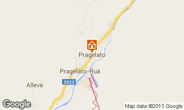 Map Pragelato Apartment 27420
