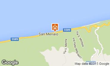 Map San Menaio Apartment 35090
