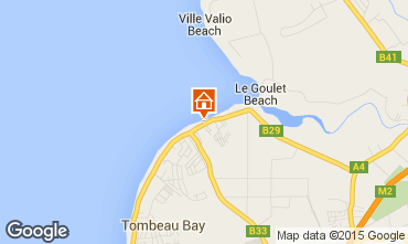 Map Tombeau Bay Villa 86489