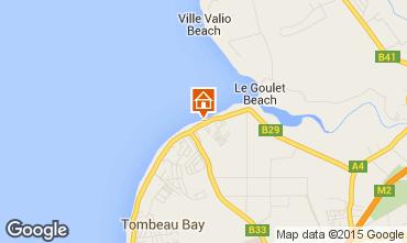 Map Tombeau Bay Villa 86489