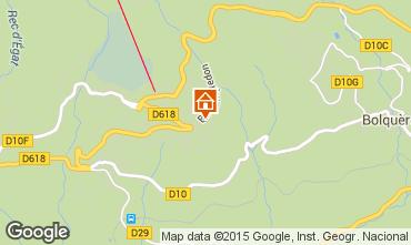 Map Font Romeu Apartment 4135