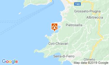 Map Porticcio Villa 118013