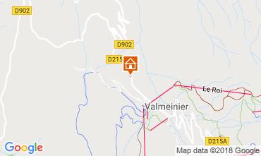 Map Valmeinier Chalet 3455