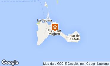 Map Formentera Apartment 76917