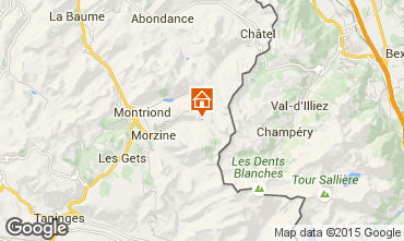 Map Avoriaz Flat 59801