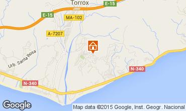 Map Torrox Apartment 67674
