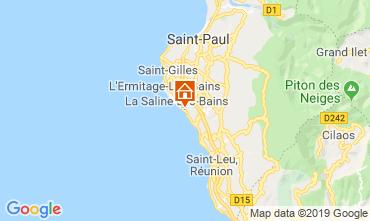 Map La Saline les Bains Apartment 119424