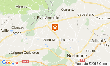 Map Narbonne House 111188