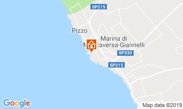 Map Marina di Mancaversa Apartment 77666