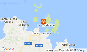 Map La Maddalena Apartment 53473