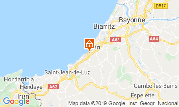 Map Biarritz Mobile home 117926
