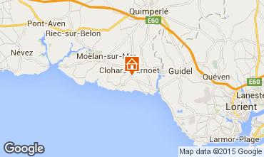 Map Clohars Carnoet House 94820