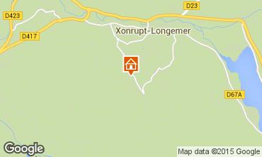 Map Gérardmer Apartment 101871