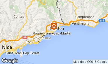 Map Roquebrune Cap Martin Apartment 56046
