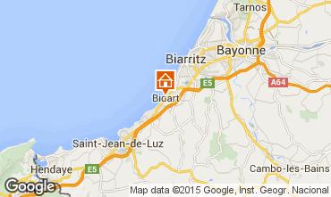 Map Bidart Apartment 99426