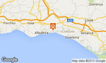 Map Albufeira Apartment 70471