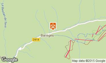 Map Barèges Apartment 94988