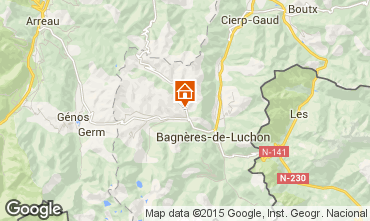 Map Luchon Superbagneres House 80787