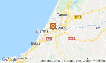 Map Biarritz Studio apartment 6356