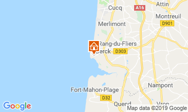 Map Berck-Plage Studio apartment 118599