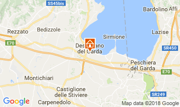 Map Desenzano del Garda Apartment 115248