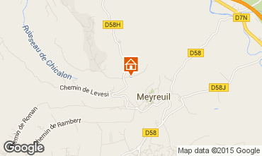 Map Aix en Provence Villa 96455