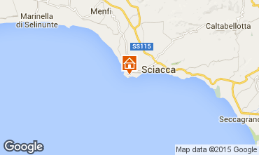 Map Sciacca Apartment 78731