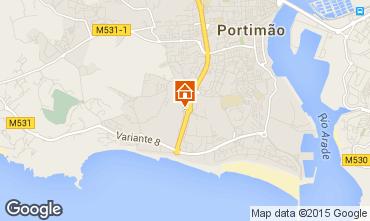 Map Portimão Apartment 94930