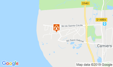Map Le Touquet Self-catering property 118198